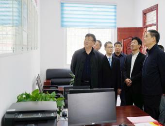 市人大常委会主任陈勇在茨沟镇调研指导脱贫攻坚工作