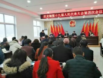 双龙镇召开第十九届届人民代表大会第四次会议