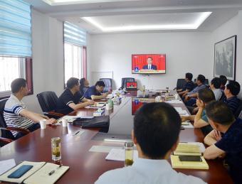 汉滨区人大中心组学习会集体收看十三届全国人大三次会议开幕式