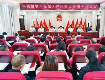 牛蹄镇:召开十九届人民代表大会第七次会议