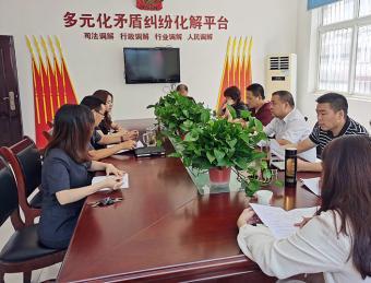 汉滨区人大调研指导汉滨法院工作