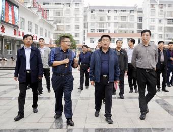 灵台县来汉滨区考察人大工作